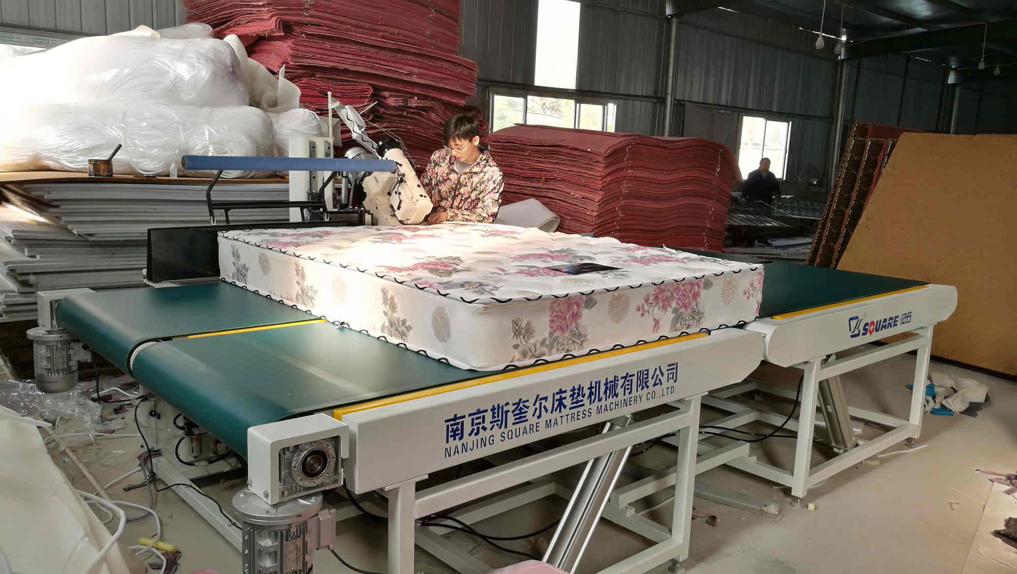 自动床垫围边机