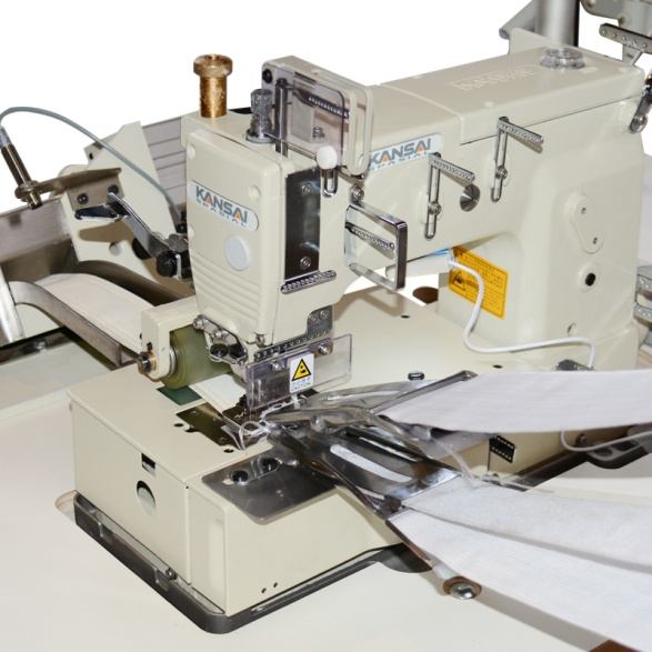 拉手带绗缝机细节图