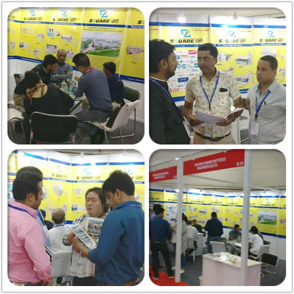 床垫机械以及床垫生产厂家参加的印度展会