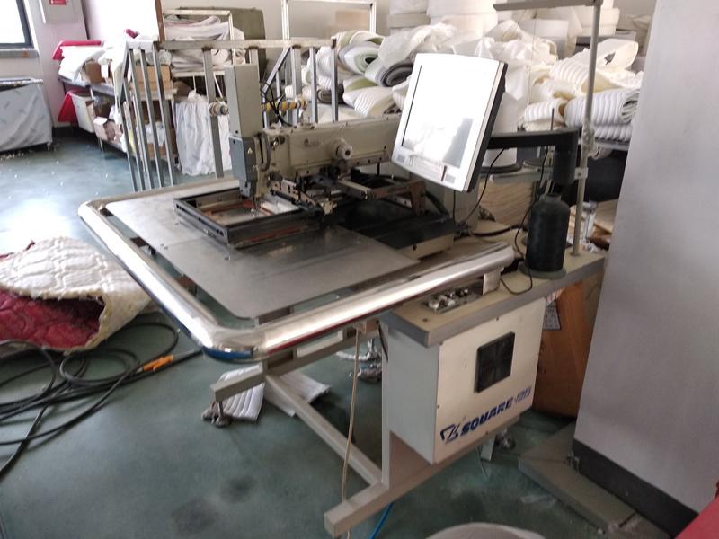 自动床垫商标机